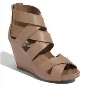 Dolce Vita Pali Leather Wedges